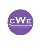 CWE logo sticker